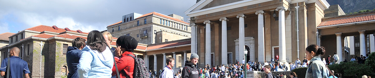 UCT Students Upper Campus