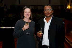 Assoc Prof Fritha Langerman and Prof Sakhela Buhlungu, Dean of Humanities