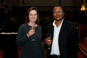 Assoc Prof Fritha Langerman and Prof Sakhela Buhlungu, Dean of Humanities