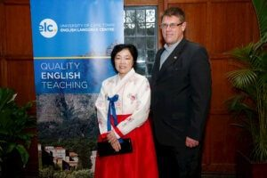 Clifford Smith and Yun Ock Jeong - Goldkey Education - International EFL Placements