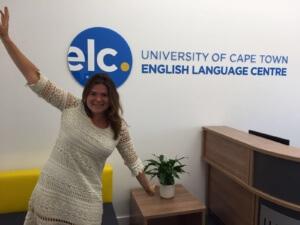 UCT English language Centre student Pam