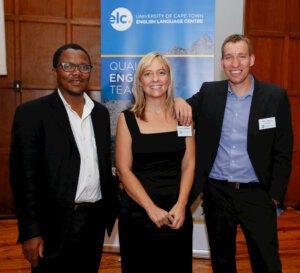 Prof Sakhela Buhlungu, Christelle van Niekerk, Simon Harrison