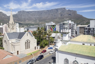 Views of Table Mountain from Social Area