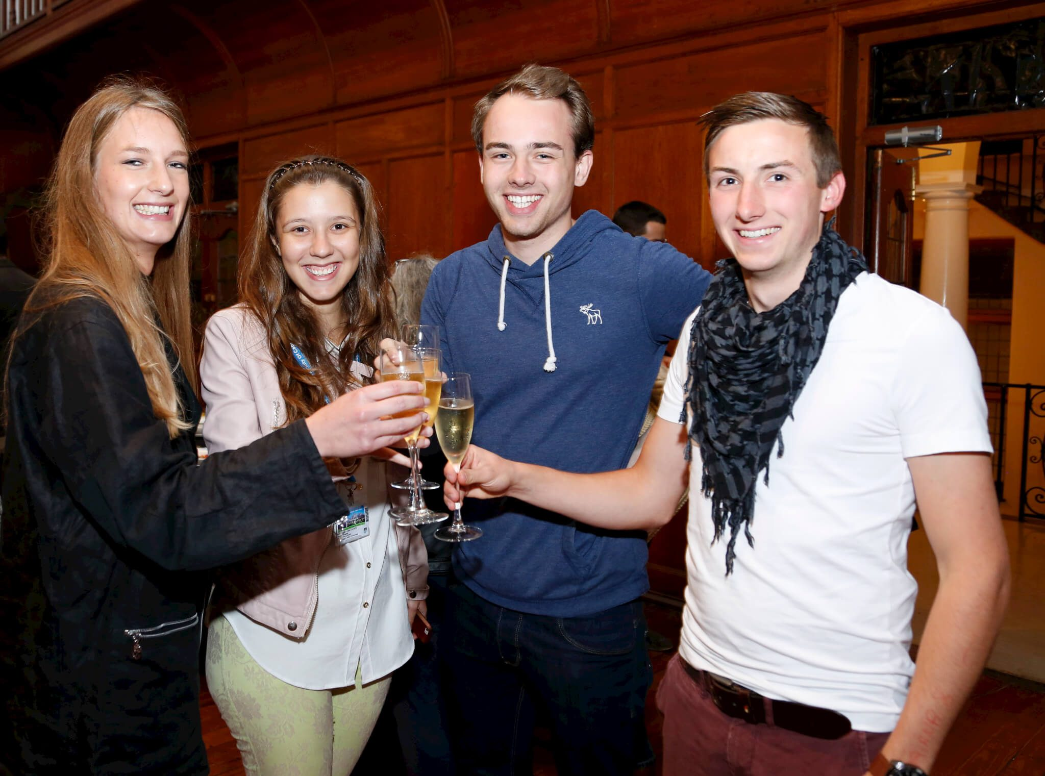 Students at UCT English Language Centre Launch
