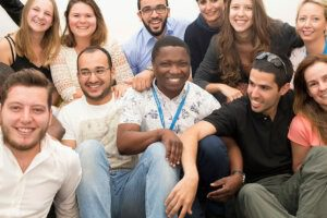 Happy Students at UCT English language Centre