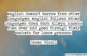 James Nicoll quote \ UCT English Language Centre
