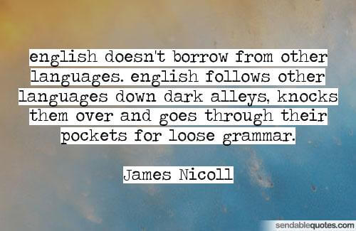 James Nicoll Quote Uct English Language Centre