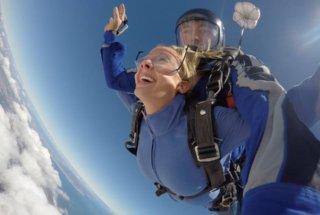 Sky Diving Bliss #2