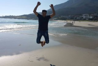 Zaki on Camps Bay Beach