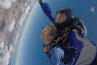 Sky Diving Bliss #1