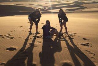 A Dune Selfie