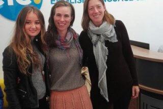 Seyma, Teacher Catherine and Juliete (DOS)