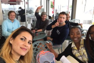 Lunch in Simon's Town