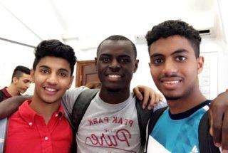Loick and his Saudi Brothers