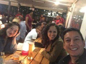 Maggie, Emilia and Luis