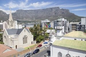 Student Residence - View of Table Mountain from Communal Area
