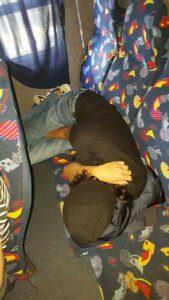 Student Outing | UCT English Language Centre | Hazem Sleeping