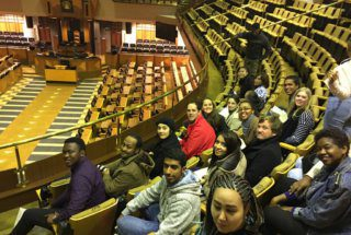 A Visit to South African Parliament