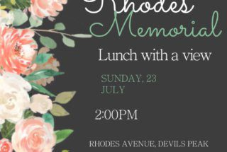 Lunch at Rhodes Memorial