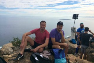 Teacher Tiaan on Lion's Head