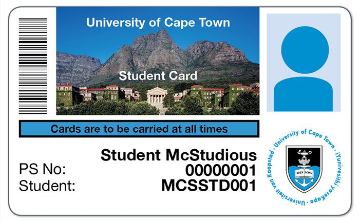 UCT Student Card