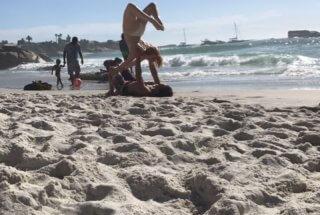 Beach Craziness