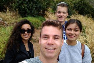 Martin, Alessandra, Laura and Jan