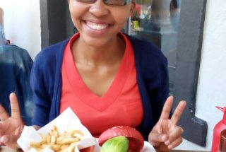 Teacher Nobs and her Valentines Hamburger