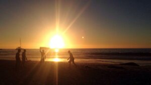 When it's hot - we do Clifton Beach