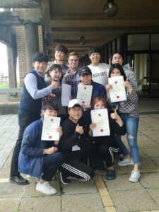 Daegu University Group Class photos3   UCT English Language Centre