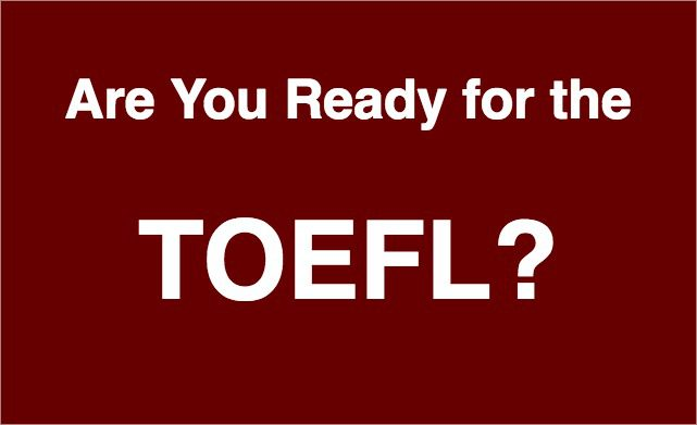 TOEFL | UCT English Language Centre