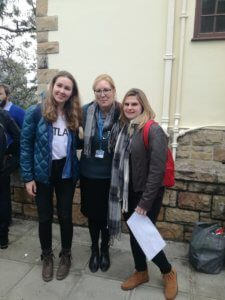 UCT English Language Centre Cape Town | Student Stories | Galina from Russia with Teacher Shannon and Gabi