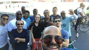 UCT English Language Centre | Social Programme | Cape Town | Open Streets Group Photo