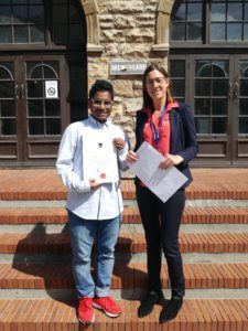 UCT English Language Centre | Mohammed's Graduation with Juliette