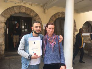 UCT English Language Centre | Wesam's Graduation | With Teacher Catherine