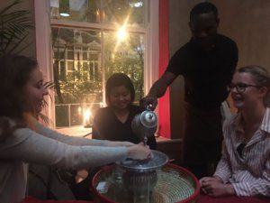 UCT English Language Centre | Social Programme | Dinner Together at an Ethiopian Restaurant