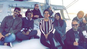 Student Stories | Kanon | Sunset Boat Cruise Group Photo
