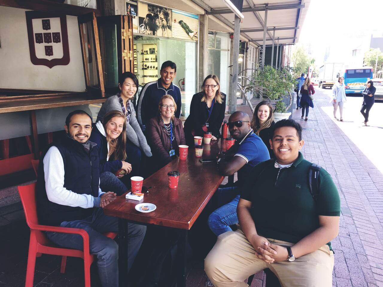 UCT English Language Centre | English Students Cape Town | Coffee with Teachers