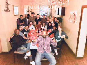 UCT English Language Centre   Goodbye Mohammed Student Group Dinner