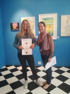 UCT English Language Centre | Noemie's Graduation with monica Boshoff