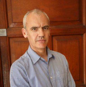 Sean UCT English Language Centre miembros del personal y profesores