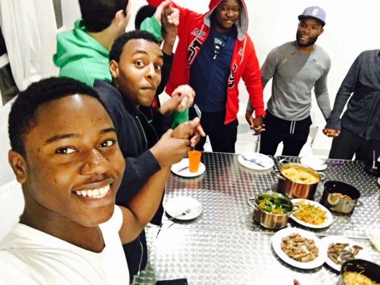 Student Residence UCT English Language Centre Group Photo