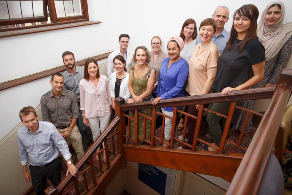 UCT English language Centre Les membres du personnel