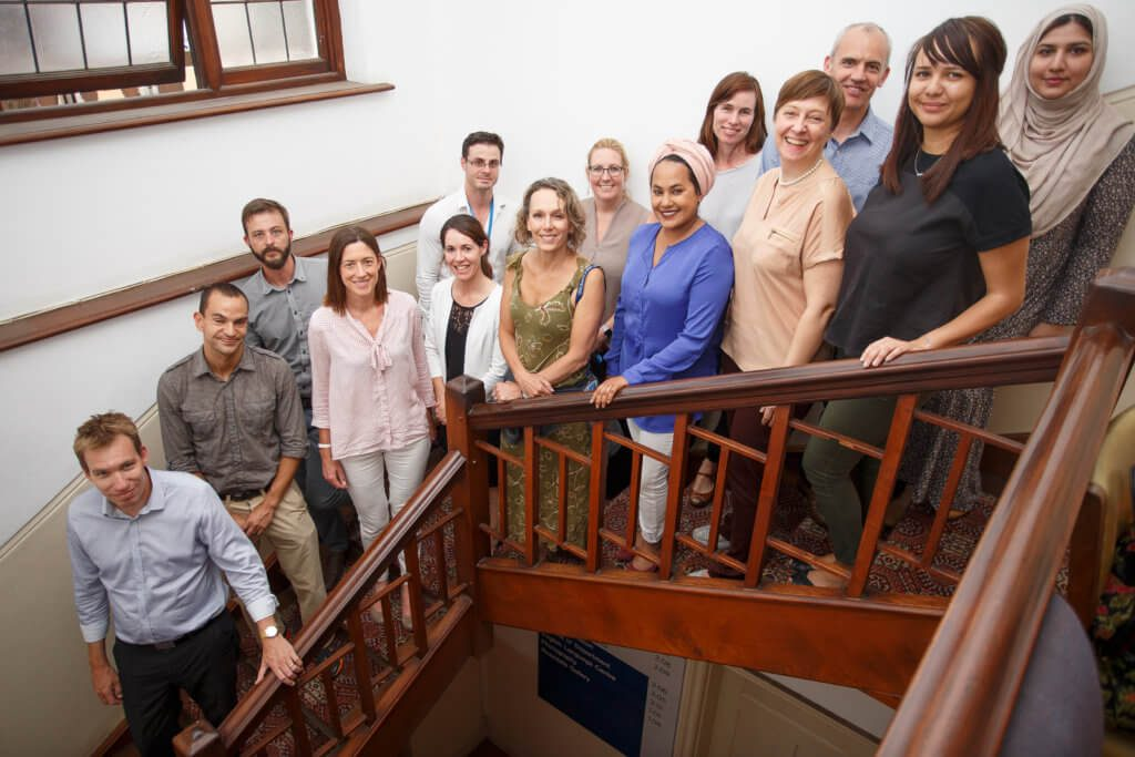 UCT English language Centre miembros del personal y profesores