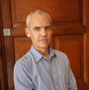 Sean de Waal UCT English Language Centre equipe