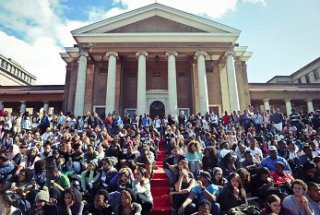 UCT Jammie Steps Upper Campus