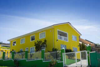 'The Yellow House'