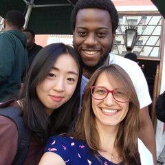 Bruna with Friends at ELC