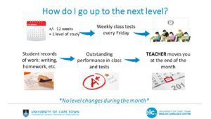 How Students Move Up