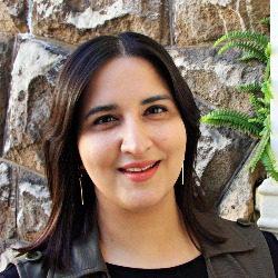 Teacher Qanitah at ELC